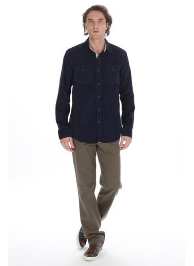 Volt Uzun Kollu Gömlek Lacivert